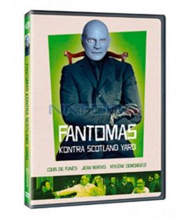 Fantomas kontra Scotland Yard 1966  (Fantômas contre le Scotland Yard) DVD