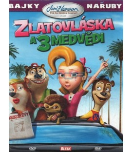 Bájky naruby: Zlatovláska a 3 medvědi (Goldilocks and the Three Bears) DVD