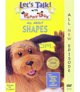 Lets Talk With puppy dog- All  about shapes DVD