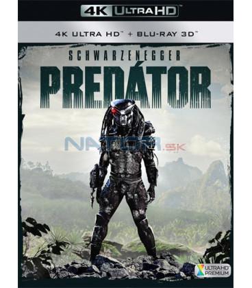 PREDÁTOR 1987 (Predator) (4K Ultra HD) - UHD + 3D/2D BD - 2 x Blu-ray