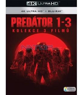 Predátor (Kolekce 1-3) (4K Ultra HD) - UHD Blu-ray + Blu-ray