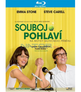 SOUBOJ POHLAVÍ 2017 (Battle of the Sexes) Blu-ray