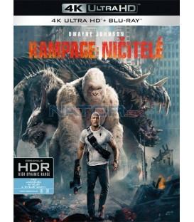 Rampage: Ničitelé / Besnenie 2018 (Rampage) (4K Ultra HD) - UHD+BD - 2 x Blu-ray