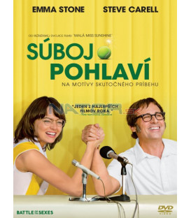 Súboj pohlaví 2017 (Battle of the Sexes) DVD (SK OBAL)