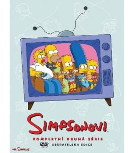 Simpsonovi 2.sezona, 4 DVD, 22 dílů