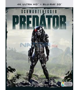 PREDÁTOR 1987 (Predator) (4K Ultra HD) - UHD + 3D/2D BD - 2 x Blu-ray (SK OBAL)