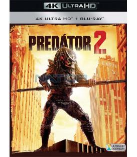 PREDÁTOR 2 - 1990 (Predator 2) (4K Ultra HD) - UHD+BD - 2 x Blu-ray (SK OBAL)