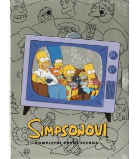 Simpsonovi 1.sezona, 3 DVD, 13 dílů