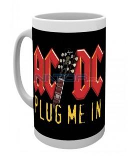 Hrnek AC/DC - Plug me in 295 ml