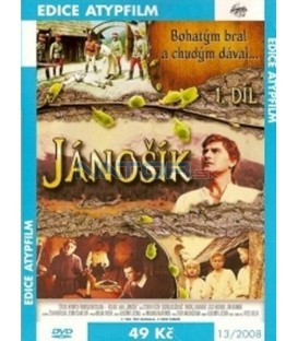 Jánošík 1. a 2. diel DVD