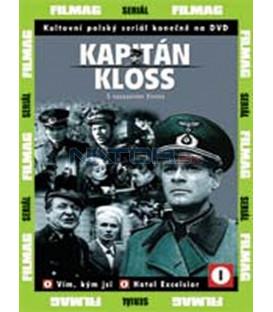Kapitán Kloss -  S nasazením života (S nasazením života) kompletná kolekcia 1-9 DVD