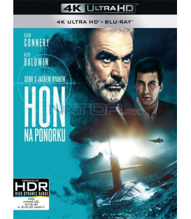 Hon na ponorku (The Hunt for Red October) (4K Ultra HD) - UHD Blu-ray + Blu-ray