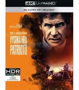 Vysoká hra patriotů (Patriot Games) (4K Ultra HD) - UHD Blu-ray + Blu-ray
