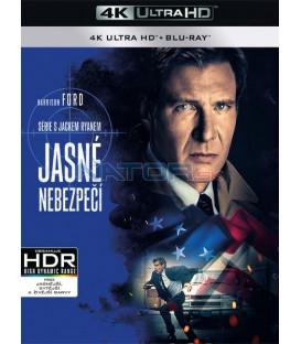 Jasné nebezpečí (Clear and Present Danger) (4K Ultra HD) - UHD Blu-ray + Blu-ray