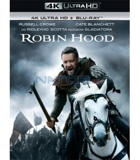 Robin Hood 2010 (4K Ultra HD) - UHD Blu-ray + Blu-ray (SK OBAL)