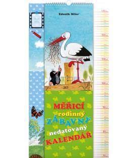 Nástenný kalendár Krtko, merací, 33 x 64 cm