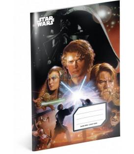 Školský zošit Star Wars – Attack, A4, 40 listov, čistý