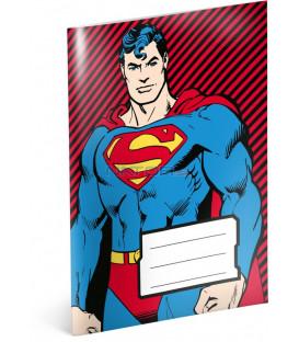 Notesík Superman, A6, 20 listov, linajkovaný