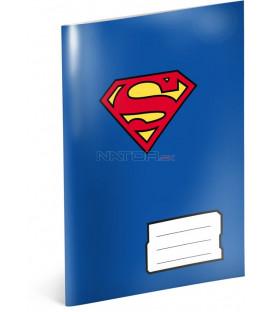Školský zošit Superman – Heart, A5, 40 listov, linajkovaný