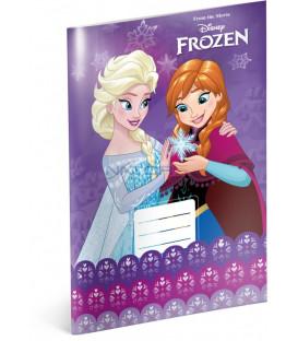 24ea1b6075 Školský zošit Frozen – Ľadové kráľovstvo Violet