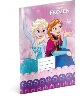 bf0addcdbd Školský zošit Frozen – Ľadové kráľovstvo Pink