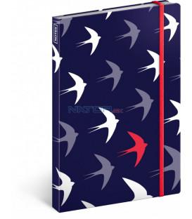 Notes Flyaway, linajkovaný, 13 x 21 cm