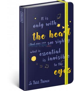 Notes Malý princ – Oči, linajkovaný, 10,5 x 15,8 cm