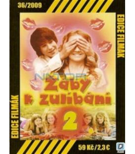 Žáby k zulíbání 2 (Die wilden Hühner 2) DVD