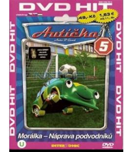 Autíčka 5 (Auto B-Good) DVD