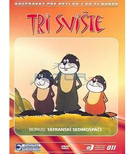Tri svište DVD
