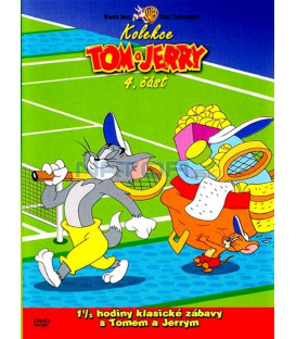 Tom a Jerry kolekce 4.část DVD (Tom & Jerrys Classic Collection 4)