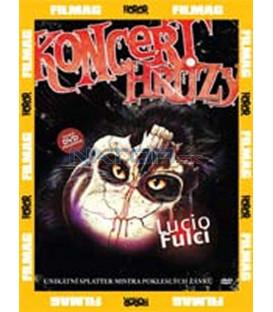 Koncert hrůzy DVD (Un gatto nel cervello)