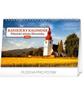 Stolový Katolícky kalendár SK 2019, 23,1 x 14,5 cm