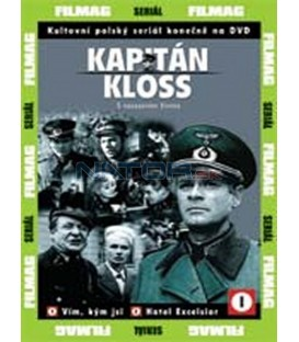 Kapitán Kloss 1 - díly 1 a 2 (Stawka wieksza niz zycie) DVD