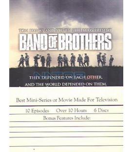 Bratrstvo neohrožených( BAND OF BROTHERS)6DVD plechový box