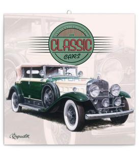 Poznámkový kalendár Classic Cars – Václav Zapadlík, 2019, 30 x 30 cm