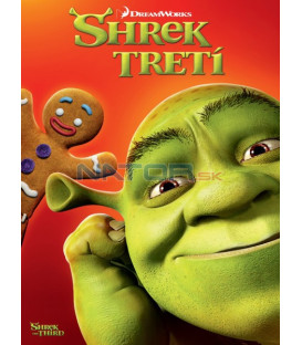 Shrek Tretí (Shrek the Third) Big Face DVD (SK OBAL)