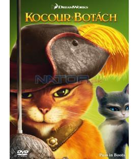 Kocúr v čižmách (Puss in Boots) (big face edice II.) 2011 DVD (SK OBAL)