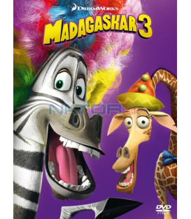 Madagaskar 3  (Madagascar 3: Europes Most Wanted) (big face edice II.) DVD