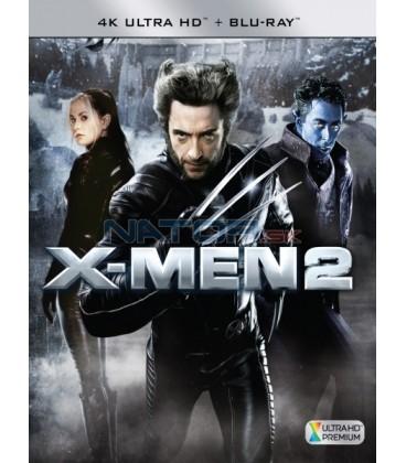 X-Men 2 - 2003 (4K Ultra HD) - UHD Blu-ray + Blu-ray