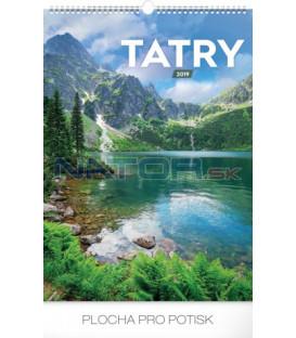 Nástenný kalendár Tatry 2019, 33 x 46 cm
