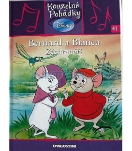 Bernard a Bianca - Záchranáři- kniha + CD- Kouzelné pohádky Disney 41