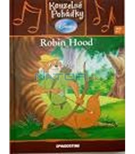 Robin Hood- kniha + CD- Kouzelné pohádky Disney 27