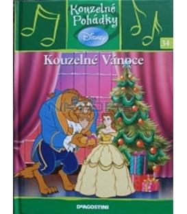 Kouzelné Vánoce- kniha + CD- Kouzelné pohádky 34