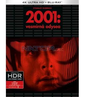 2001: Vesmírná odysea (2001: A Space Odyssey) (4K Ultra HD) - UHD Blu-ray + Blu-ray