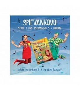 CD PODHRADSKÁ / ČANAKY - SPIEVANKOVO: PIESNE Z DVD SPIEVANKOVO 5 + BONUSY