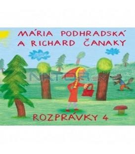 CD Mária Podhradská a Richard Čanaky - Rozprávky 4