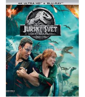 Jurský svět: Zánik říše 2018 (Jurassic World: Fallen Kingdom) (4K Ultra HD) - UHD+BD - 2 x Blu-ray