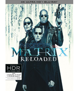 Matrix Reloaded (The Matrix Reloaded) 3BD (UHD+BD+bonus disk)