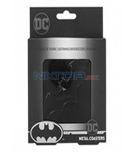 Batman podtácky - kovové (4 ks)   (Batman podtácky - kovové (4 ks))